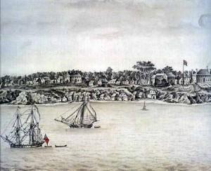 Lithograph - Battle of Yorktown