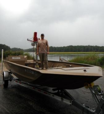 Our Oyster Jet Boat | Andersons Neck Oyster Company