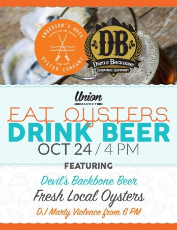 Eat Oyster Dringk Beer Fall 2015